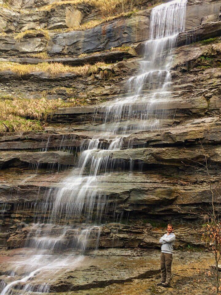 La cascata all'ombra del Falterona