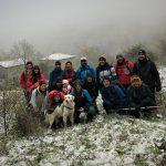 Glia antichi passi tra Romagna e Toscana imbiancati  18/11/2018