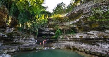 """A mollo nella """"Grotta Urlante"""" di Premilcuore 21/08/2016"""