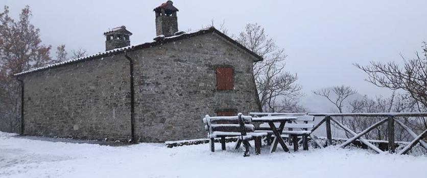 Il Brulè dell' Antivigilia al castello di Colorio