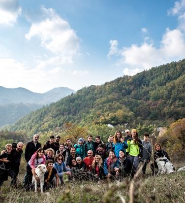 I colori dell' Autunno alle cascate Acquacheta 21/10/2018