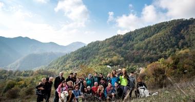 I colori dell' Autunno alle cascate Acquacheta 21/11/2018