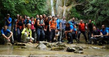 Risalendo cascate nella Valle del Giardino 21/05/2017