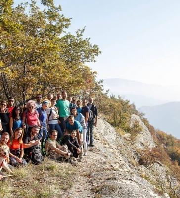 L' inaccessibile crinale degli Scalacci 14/10/2018