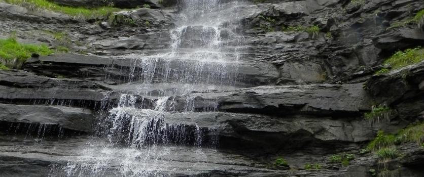 La cascata segreta del Piscino
